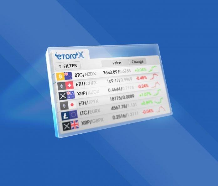 eToroX, une plateforme de qualité pour le trading des cryptomonnaies