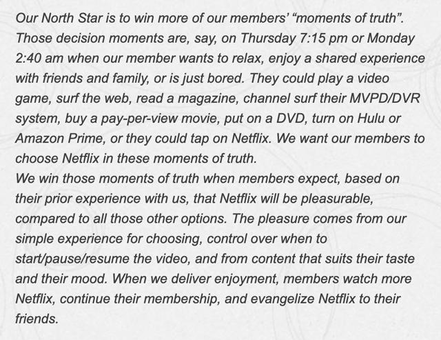 Netflix Moments de vérité