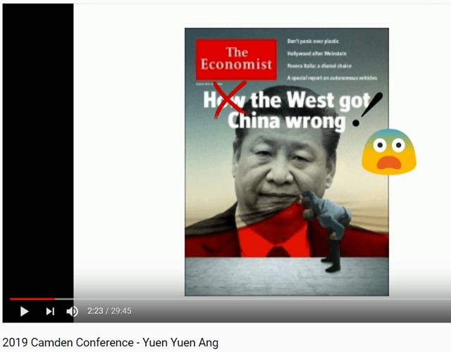 Un professeur de l'université du Michigan démolit The Economist