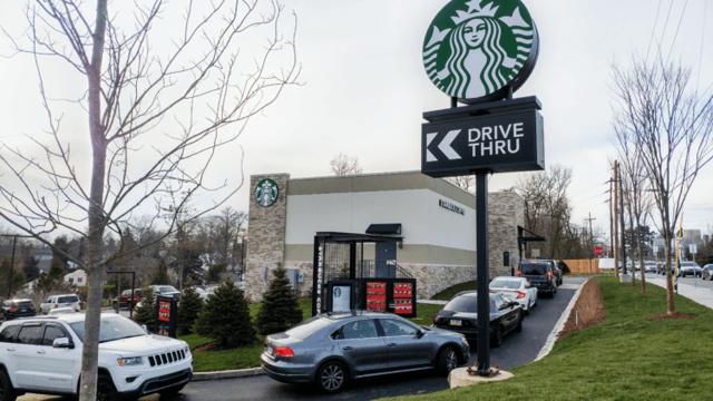 Equity Retail Brokers représente Starbucks dans le cadre d'un contrat de location de 2 100 FS Freestanding Drive-Thru à Broomall, PA