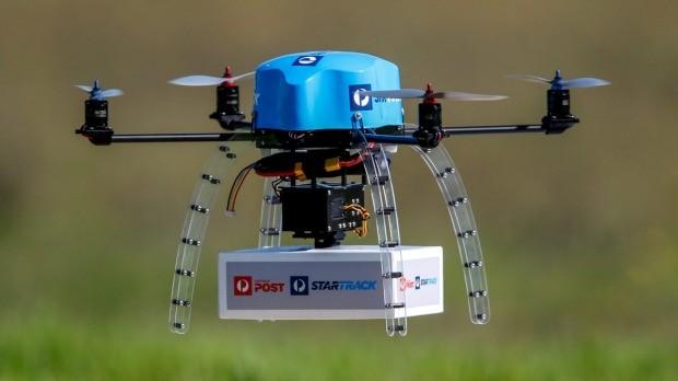 Le DOT étudie la possibilité d'utiliser la Blockchain dans les drones de messagerie