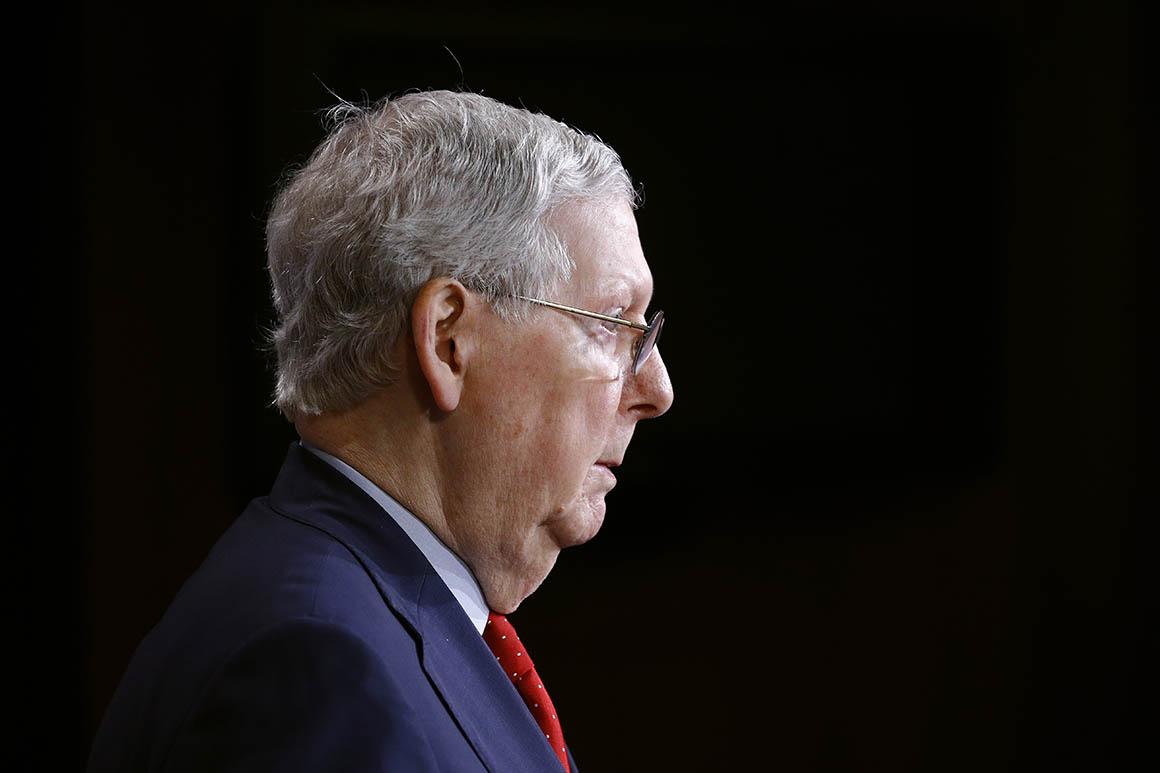 Mitch McConnell, leader de la majorité au Sénat