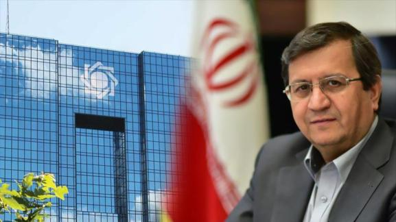 Le gouverneur de la Banque centrale d'Iran, Abdolnaser Hemmati.
