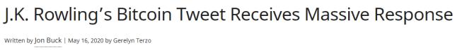 C'est ce titre qui a conduit Rowling à explorer le monde de la cryptographie.