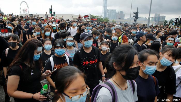 La situation à Hong Kong peut avoir des effets importants sur Bitcoin. Source : Reuters