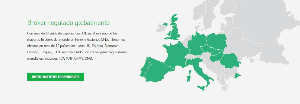 La XTB est réglementée dans le monde entier, ce qui garantit la sécurité de vos fonds