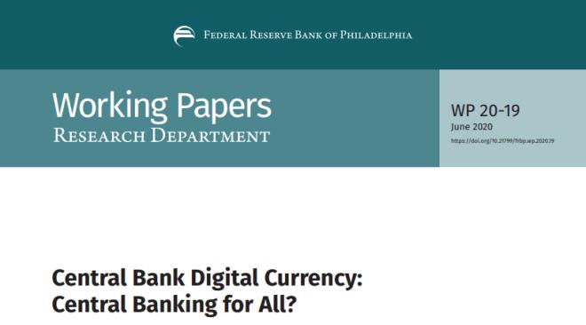 C'est dans ce rapport de la Fed que la possibilité de monnaies virtuelles remplaçant les banques est évoquée.