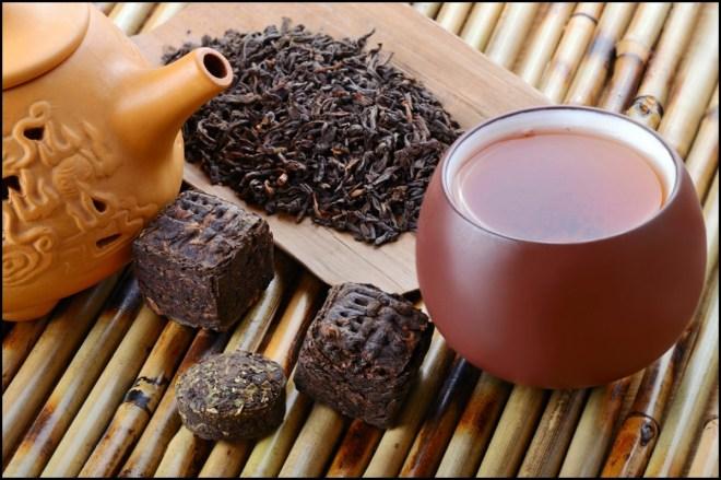 Le thé de Pu'er est l'un des plus importants de Chine.