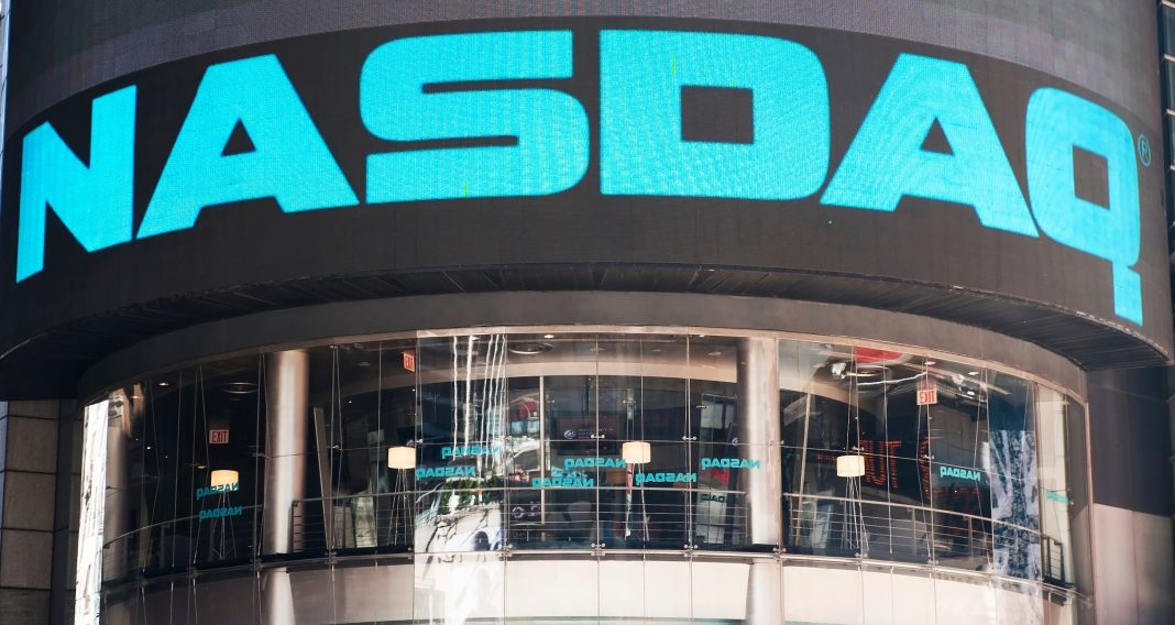 Le marché boursier Nasdaq