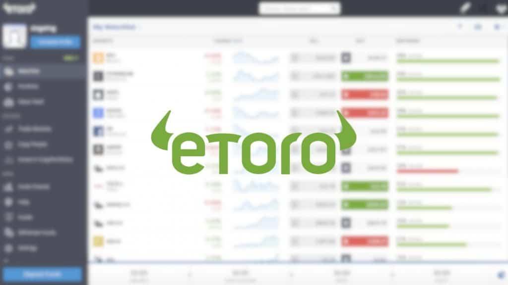 Le site de trading eToro