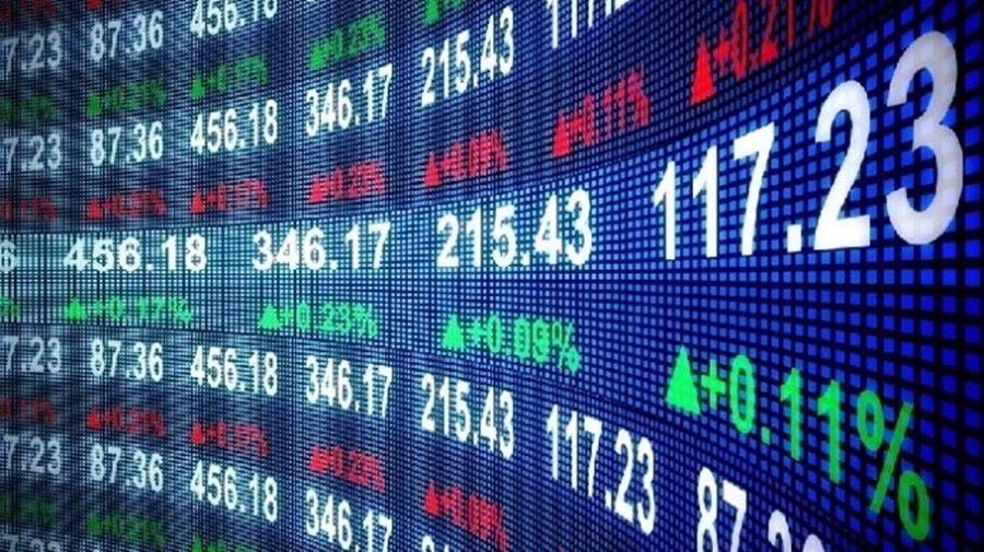 Un marché boursier