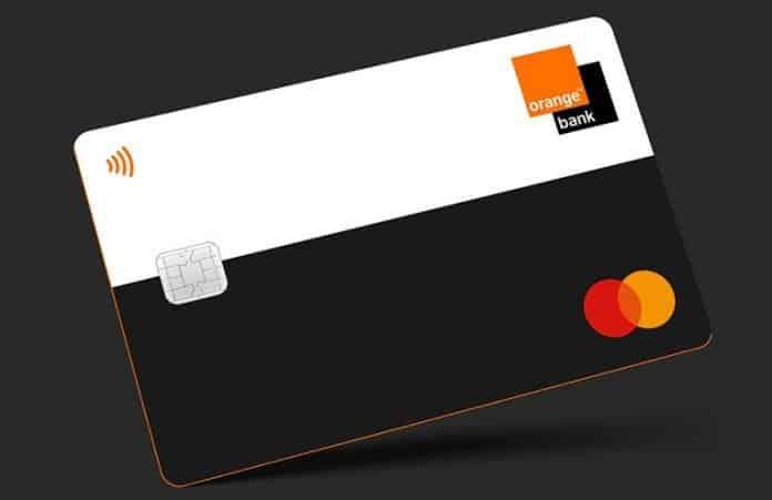 carte bancaire Mastercard-Orange-Bank